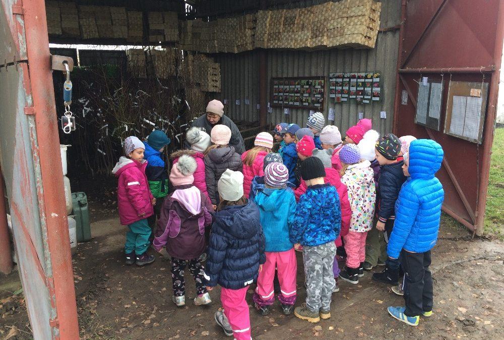 Návštěva ovocné školky