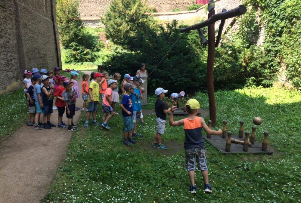Školní výlet do Zruče nad Sázavou