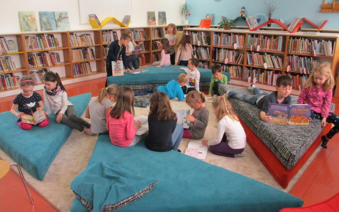 Návštěva Městské knihovny v Benešově