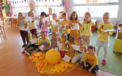 Žlutý den ve školce.