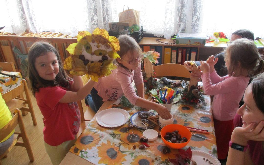 """""""Podzimní tvoření s rodiči"""""""