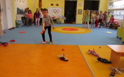 Olympijské hry ve třídě Ježečků.